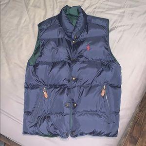 Polo Ralph Lauren Navy Bubble Vest
